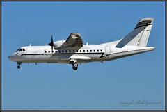 N470JF  Blue Ridge Aero Services (Bob Garrard) Tags: n470jf blue ridge aero services aerospatiale atr42 bwi kbwi