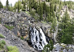 Waha Waterfall and Vista Weekend (Doug Goodenough) Tags: bicycle bike cycle pedals spokes waha craig mountains gravel dirt mud waterfall water fall vista point snake river canyon creek deer trek stache bryce stephanie scott jen drg531 drg53119 drg53119pwaterfall idaho spring may