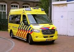 2019 Mercedes Benz Sprinter Ambulance (Vriendelijkheid kost geen geld) Tags: mercedes benz ambulance hilversum