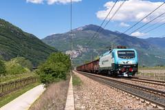 Arrivederci 001! (Damiano Piovanelli) Tags: treno treni traxx traxx112e ferrovie ferrovia rail railtracioncompany railtractioncompany eu43 eu43001 brennero brenner brennerbahn