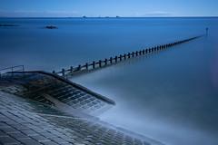 Very LE (PeskyMesky) Tags: aberdeen aberdeenbeach longexposure landscape scotland water sea ocean groyne blue canon canon5d eos