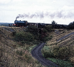 Wheldale, train near Fryston, N.C.B. (gearlok) Tags: wheldale nationalcoalboard hunslet