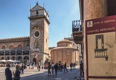 Piazza delle Erbe (Luca Nacchio) Tags: città mantova lombardia italia italy fotografia istante city channel photography capture piazza erbe square herbs