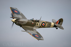 Spitfire MKV AR501 (AdrianH Photography) Tags: nikon aviation aeroplanes airshows bedfordshire warbirds spitfire