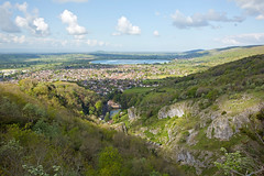 Cheddar gorge and Cheddar, Somerset (Miche & Jon Rousell) Tags: somerset mendips mendiphills cheddar gorge cheddargorge blackdown clouds sky