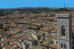 Firenze lo sai (Paolo Dell'Angelo (JourneyToItaly)) Tags: firenze toscana italia campaniledigiotto panoramica florence tuscany italy architecture panoramicview history giottoscampanile