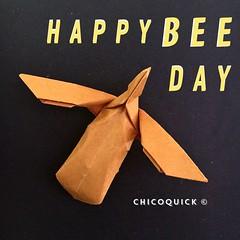 Origami Extra! Bee by Kunihiko Kasahara #おりがみ #春 #Origami #Paper #Foldedbyme #Foldoftheday #Instaorigami #Bee #Spring #May #20 #2019 #ElParaiso #Caracas #Venezuela #日本 #中國 #대한민국 #Uk #Deutsche #Россия #Ελλάς #chicoquick (chicoquick) Tags: おりがみ 春 origami paper foldedbyme foldoftheday instaorigami bee spring may 20 2019 elparaiso caracas venezuela 日本 中國 대한민국 uk deutsche россия ελλάσ chicoquick