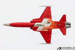 Northrop F-5E Tiger II - Patrouille Suisse (Aimeric D. Photographies) Tags: avion plane planes spotter airshow riat fairford