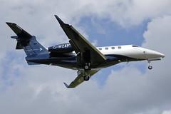 G-WZAP (Rob390029) Tags: saxonair embraer e300 phenom gwzap 300 newcastle airport ncl egnt