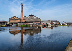 National Waterways Museum at Ellesmere Port (AffieFilms) Tags: museum canal waterway refecltive reflection buildings