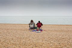 Seaside - Watching (julieloolibelle15) Tags: hastings 2019 may seaside shootfromthehip streets streetphotography england tradition documentary beach lifestyle summer towns people pebbles