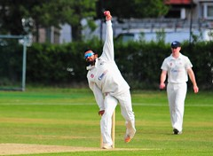 Wallasey Cricket Club v New Brighton 18/5/2019 (sab89) Tags: cricket bat ball wicket red soild willow stumps green pitch white clothing whites club clubhouse social event match cup