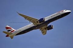 British Airways G-NEOT Airbus A321-251NX cn/8718 @ EGLL / LHR 14-05-2019 (Nabil Molinari Photography) Tags: british airways gneot airbus a321251nx cn8718 egll lhr 14052019