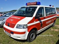 Feuerwehr Dexheim VW Transporter MZ.NO1902 f (policest1100) Tags: feuerwehr dexheim vw transporter