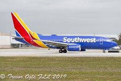 DSC_4122Pwm (T.O. Images) Tags: southwest airlines boeing 737 fll fort lauderdale