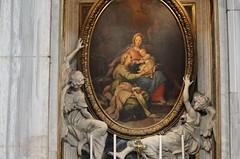 Basilique Sainte Marie majeure - (elisabeth D.) Tags: rome roma italie latium culte viergemarie madone