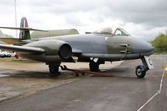 GLOSTER  METEOR YORKSHIRE AIR MUSEUM ELVINGTON (toowoomba surfer) Tags: aviation aircraft aeroplane museum airmuseum aviationmuseum