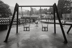 20110529-2-28 (aderixon) Tags: object outdoor park place playground swing toy weather rain