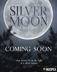 Silver Moon - Coming Soon! (MadPea Productions) Tags: coming soon madpea productions story quest fun game interactive sneak peek mystery adventure wolves teaser