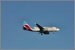 Eurowings D-AGWD. (PS_Bus_Driver) Tags: eurowings dagwd airbusa319 egcc manchesterairport finalapproach