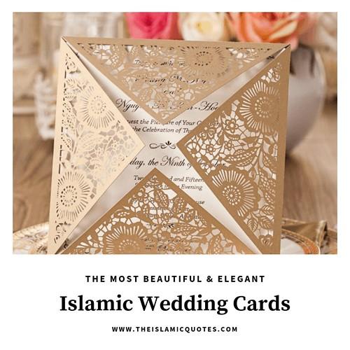 25 Islamic Wedding Invitation Card Designs For Muslims A
