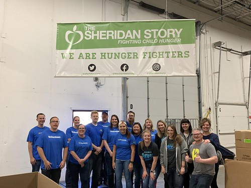 Best Buy & Pandora Food Drive Sorting Event 5/20/19