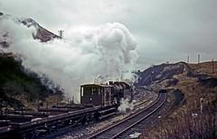 42236, Shap Summit, March 1967 (David Rostance) Tags: 42236 fairburn lms shap