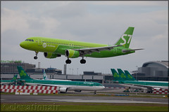 VP-BCZ Airbus A320-214 S7 Airlines (elevationair ✈) Tags: dub eidw dublin airport dublinairport arrival landing avgeek aviation airplane plane aircraft airbus a320 airbusa320214 s7 s7airlines siberiaairlines vpbcz dull overcast cloudy ireland