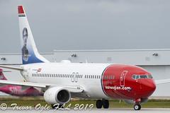 DSC_4154Pwm (T.O. Images) Tags: eifjs norwegian airlines boeing 737 737800 karin larsson fll fort lauderdale