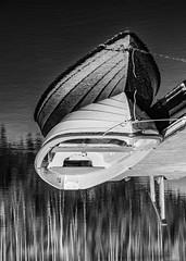 Reflection (samujjwalsahu) Tags: weekend suomi roadtrip travel friends sunset countryside lake sky forest villarajala finland east russiaborder kesä portraits landscape fujifilm fujifilmxseries fuji primelens zoomlens kompanero leatherbag sunglasses fujifilmxt20 fujifilmxe1 reflection boat doubleexposure yoga