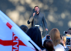 Tommy Robinson MEP ralley in Larches, Preston (Tony Worrall) Tags: tommyrobinson mep elections rally politics man stand preston lancs lancashire city welovethenorth nw northwest north update place location uk england visit area attraction open stream tour country item greatbritain britain english british gb capture buy stock sell sale outside outdoors caught photo shoot shot picture captured ilobsterit instragram photosofpreston right freespeech speech audiance