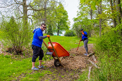 Buffalo Bills Volunteer Event | Delaware Park | May 17, 2019 (Buffalo Olmsted Parks Conservancy) Tags: buffalobills volunteer olmsted olmstedparks buffalo buffalony