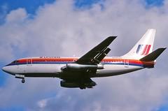 N9002U United 737-222 at KCLE (GeorgeM757) Tags: n9002u 737 737222 landing united clevelandhopkins classic aircraft aviation airplane airport boeing georgem757 predigital