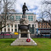 BELFAST CITY HALL FEATURES MANY STATUES AND MEMORIALS [ ROYAL IRISH RIFLES MEMORIAL]-152786