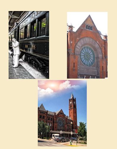 Indianapolis Indiana ~ Crowne Plaza at Historic Union Station