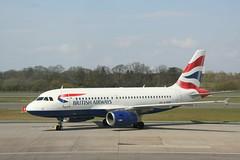 G-EUOI British A319 (Vernon Harvey) Tags: edinburgh edi geuoi airbus a319 british speedbird