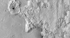 Rough-Looking, variant (sjrankin) Tags: 21may2019 edited nasa grayscale esp0505271830 mars mro marsreconnaissanceorbiter landscape