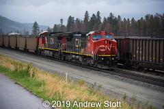 779 (awstott) Tags: 2169 c449w c408w canadiannationalrailway cnr train cn locomotive generalelectric 2629 ge jasper alberta canada