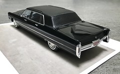 1966 Cadillac Fleetwood Series 75 limousine (Jeffcad) Tags: 1966 cadillac car fleetwood series 75 limousine 125 scale models model convertion conversion handmade kit hasegawa