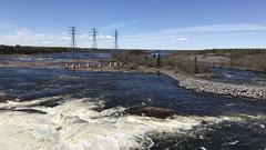 Hydro Dam (HyperTidus) Tags: water dam river manitoba