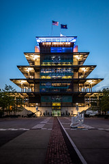 Indy Pagoda at Twilight (janedsh) Tags: track indianapolis indiana this is indy louis schwitzeraward may speedway ims pagoda flag racing photo by steve places motor 500 engineering marion county holmanphotoscom marioncounty indianapolismotorspeedway indy500 photobysteve thisisindy thisismay