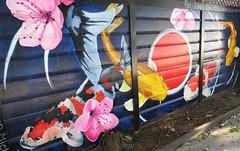 Koi Carps by Micho PWong (lotosleo) Tags: koicarps michopwong streetart mural graffart sanfrancisco california sf ca urban crossamerica2015