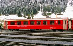 20020926-011 Rhätische Bahn (Wim van der Ent) Tags: rhätischebahn rhb davos graubünden zwitserland dieschweiz