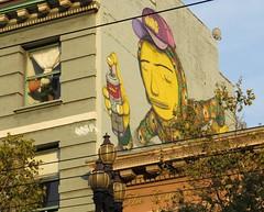 Hayes Street (lotosleo) Tags: hayesstreet midmarket streetart mural graffart sanfrancisco california sf ca urban crossamerica2015