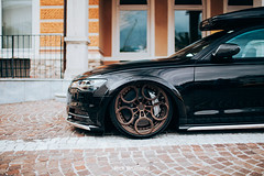 Audi A6 Allroad - Rotiform - Audi Ceramic brakes (Rick Bruinsma) Tags: wörthersee 2019 volkswagen treffen austria oostenrijk audi seat skoda brembo gewindefahrwerk stance velden am piramiden piramide bbs rotiform oz supermade superleggera ultraleggera hlt allroad slammed ceramic dannish denmark dk at accuair stanced stanceworks stancenation exclusive parts paint bronze
