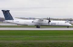C-GLQQ Porter Dash8 (twomphotos) Tags: plane spotting yul cyul 24l rwy 06r porter airlines dash8
