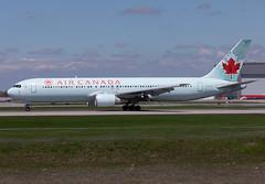 C-GHOZ Air Canada B763 (twomphotos) Tags: plane spotting yul cyul 24l rwy 06r air canada boeing b763