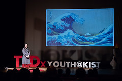 _REM1245 (heather.neill) Tags: tedxyouthkist social tedx tokyo kist youth talk categorisation third culture kid taboo language the moth flame