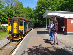 150265 Calstock (2) (Marky7890) Tags: gwr 150265 class150 sprinter 2g70 calstock railway cornwall tamarvalleyline train