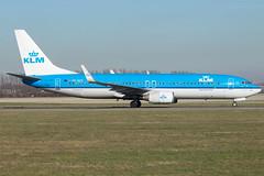 KLM B737-8K2(WL) PH-BXK (wapo84) Tags: eham ams b737 klm phbxk
